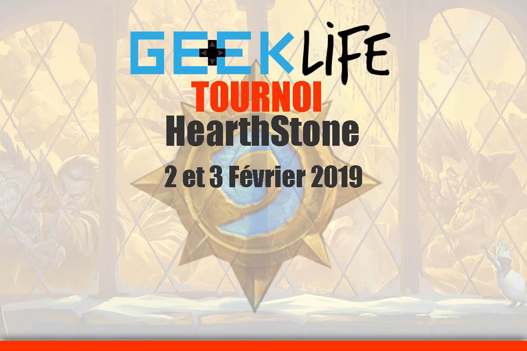 Tournoi HearthStone au GeekLife